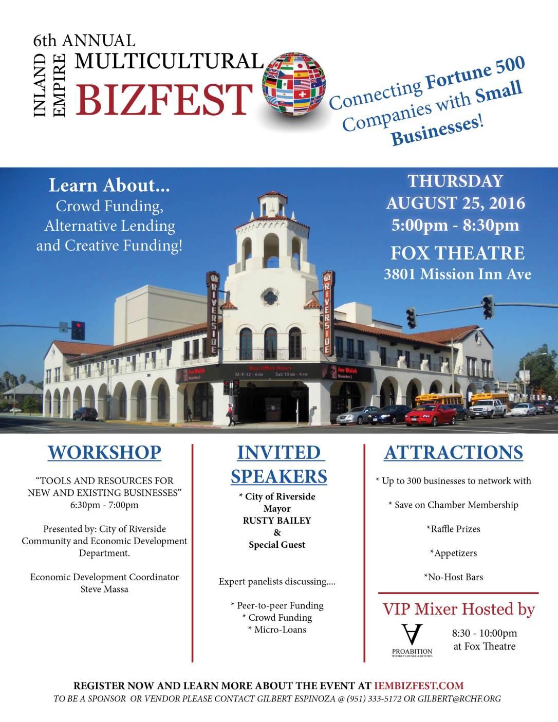 inland empire multicultural bizfest multicultural biz fest